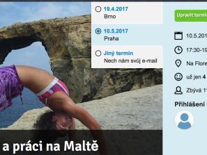Kurz Praha: Tipy na cestování a práci na Maltě