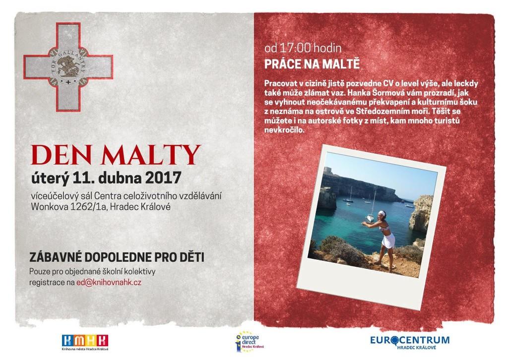 Přednáška: Práce na Maltě