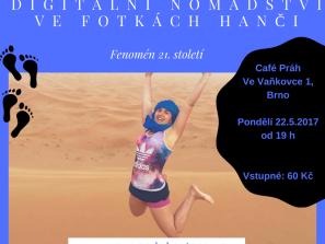 Přednáška: Dig. nomádství ve fotkách Hanči
