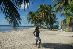 Na Kubě v Playa Larga