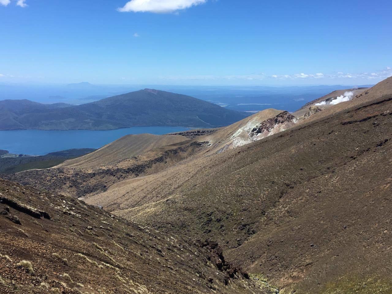 Cesta od Blue lake už je dlouhá a pořád z kopce