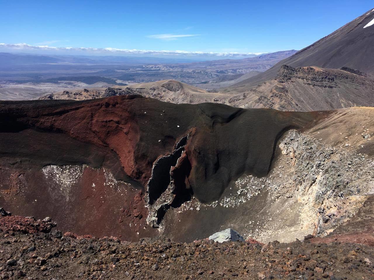 Pohled na Červený kráter