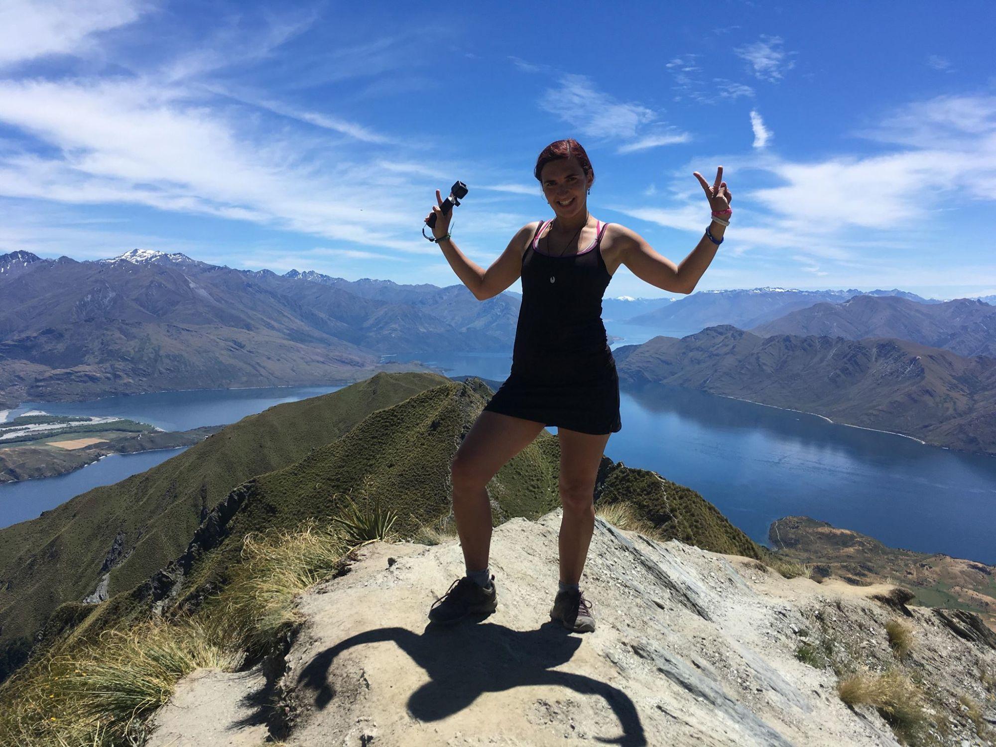 11 míst, kam se podívat na Novém Zélandu - Roys Peak