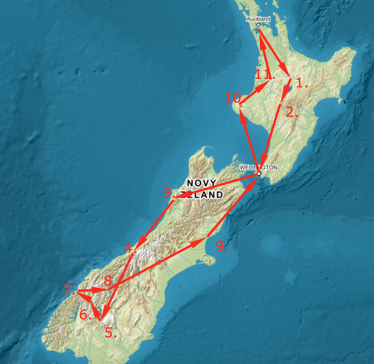 11 míst, kam se podívat na Novém Zélandu