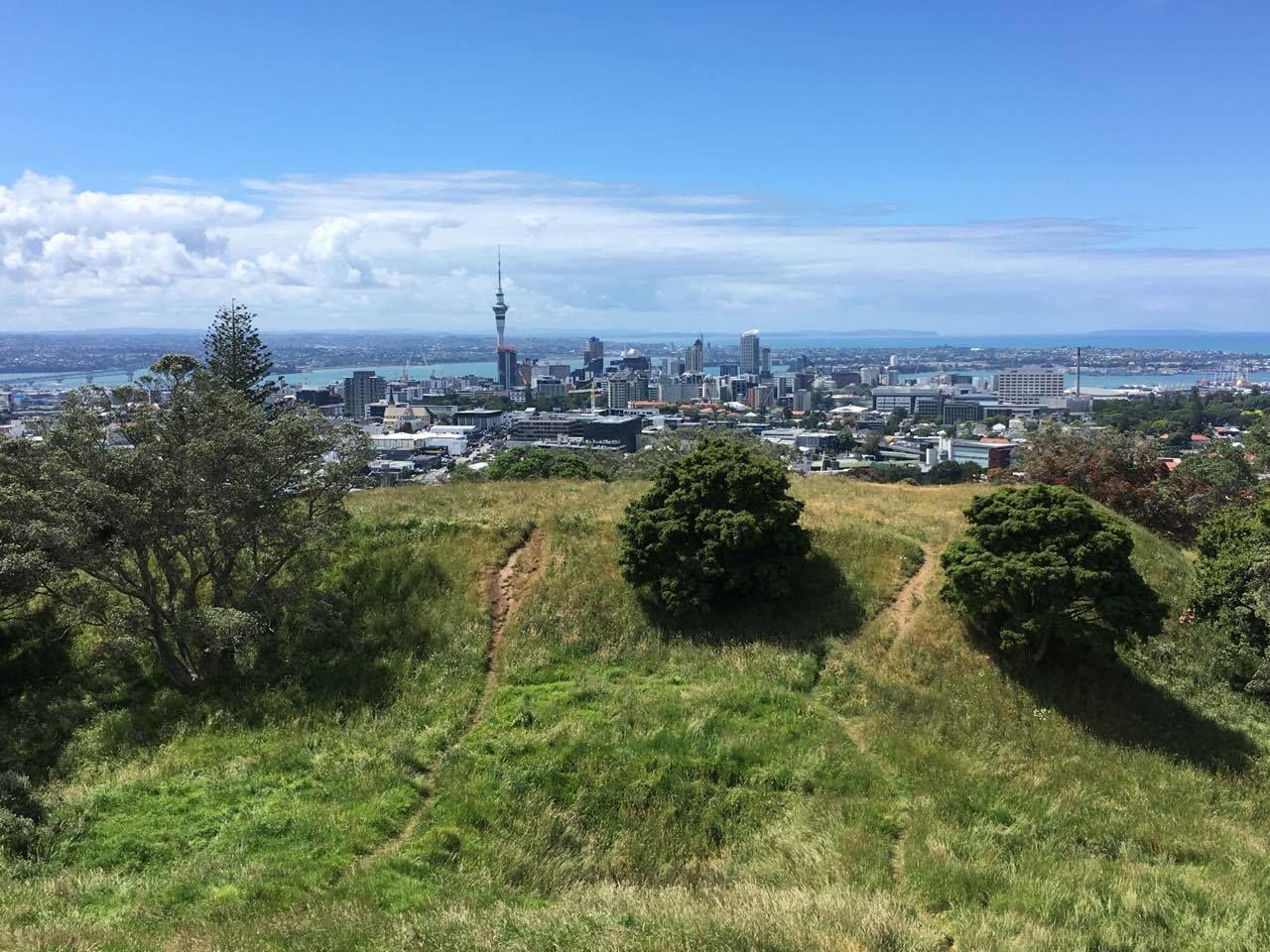 Nový Zéland: Pohled na Auckland