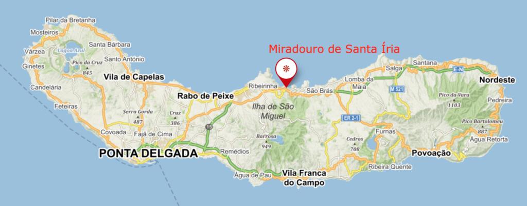 6 míst, kam se vydat při dovolené na Azorách - vyhlídková jízda