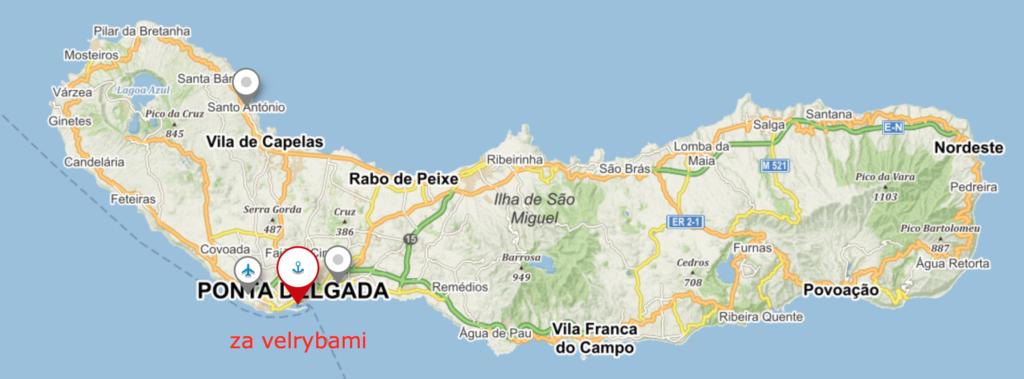 6 míst, kam se vydat při dovolené na Azorách - Ponta Delgada