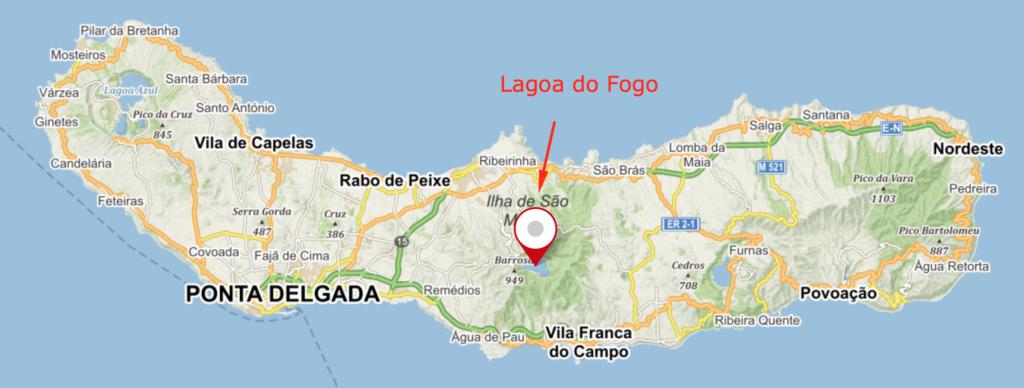 6 míst, kam se vydat při dovolené na Azorách - Lagoa da Fogo