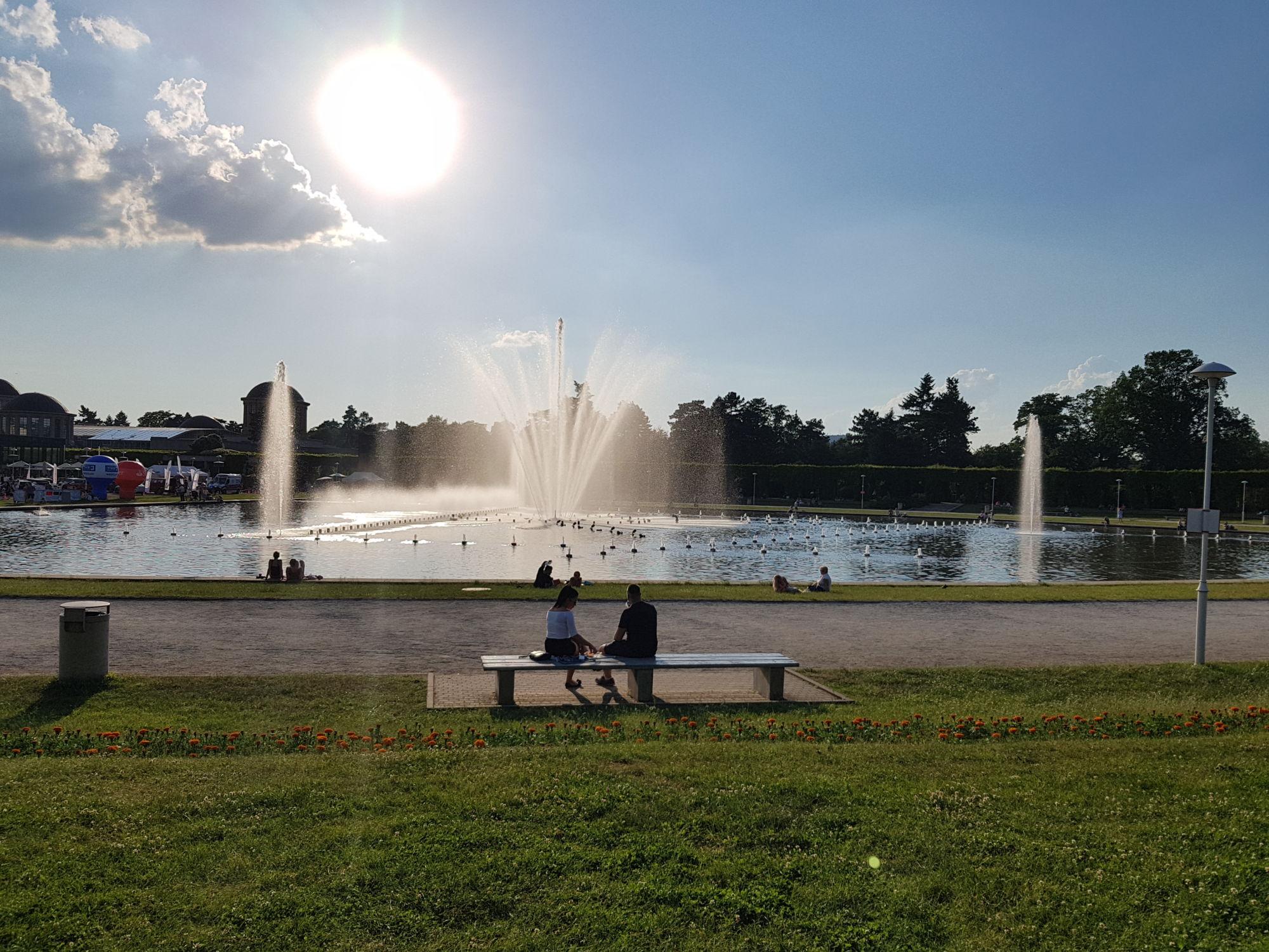 Co navštívit ve Vratislavi - hrající fontána