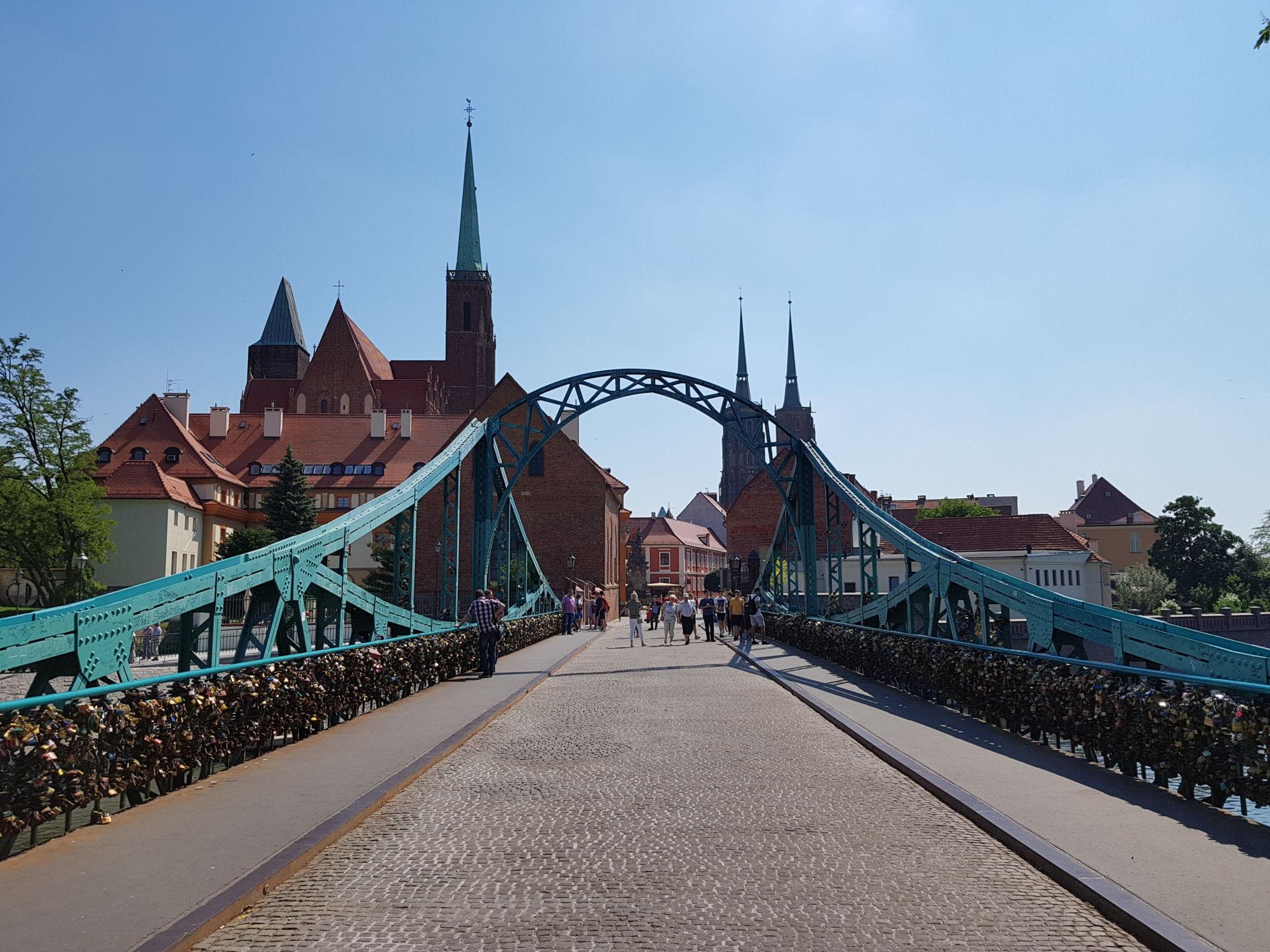 Co navštívit ve Vratislavi - most Tumski