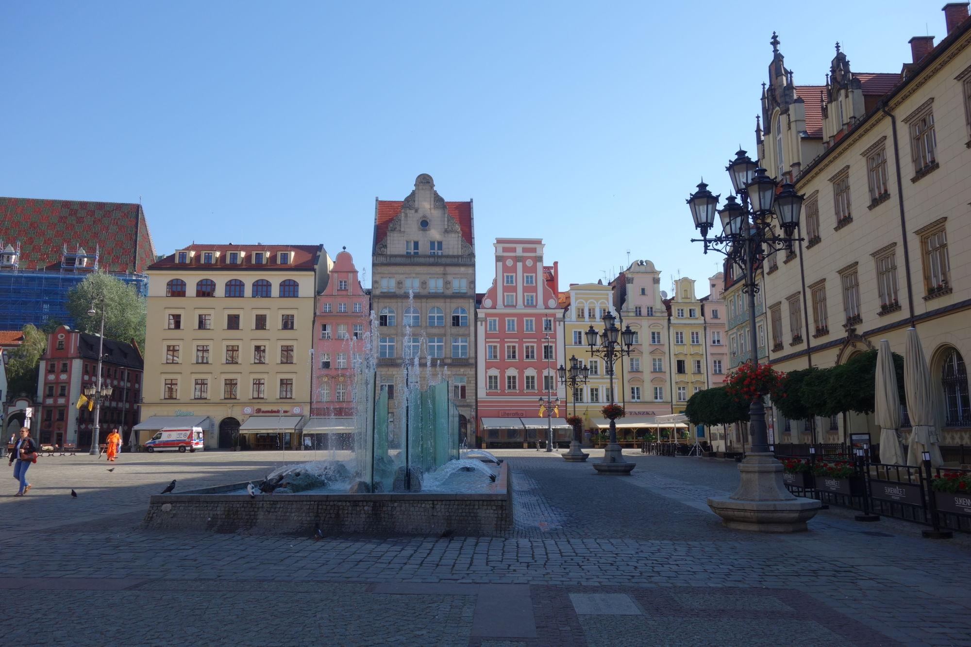 Co navštívit ve Vratislavi - rynek