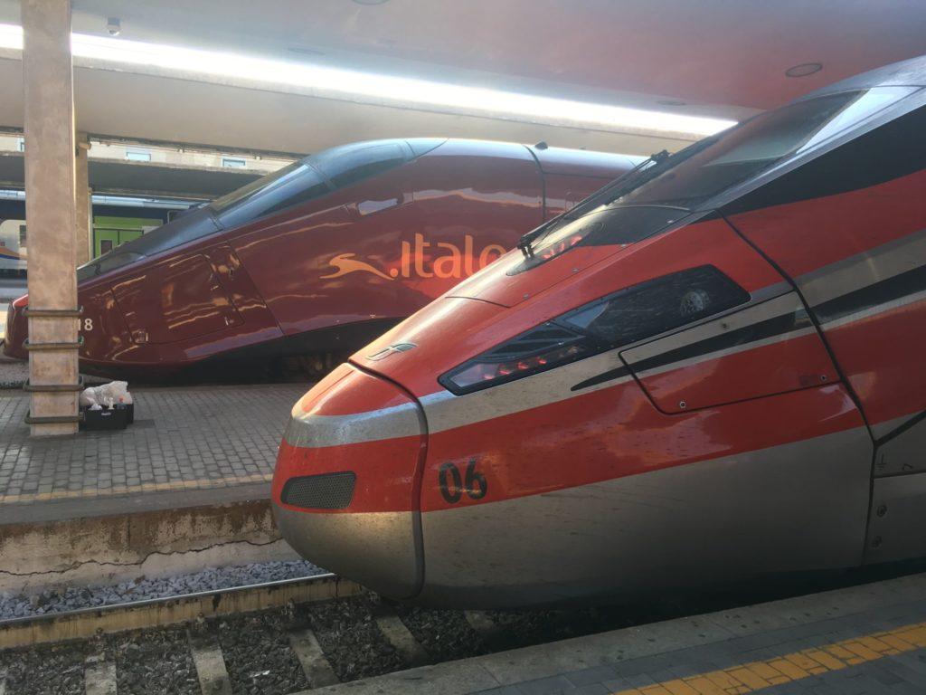 co navštívit ve Florencii - rychlovlaky Trenitalia