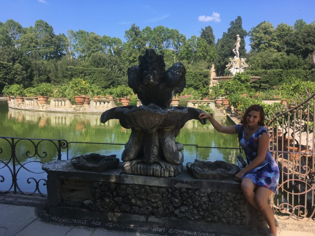 co navštívit ve Florencii - zahrady Boboli