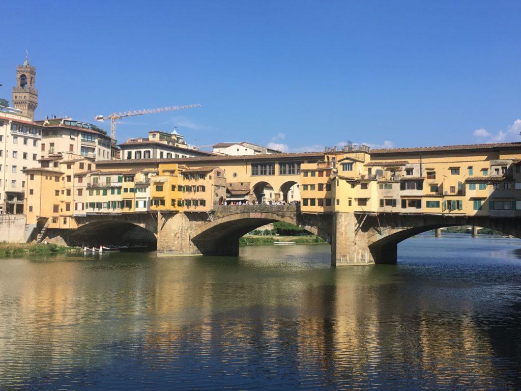co navštívit ve Florencii - Ponte Vecchio