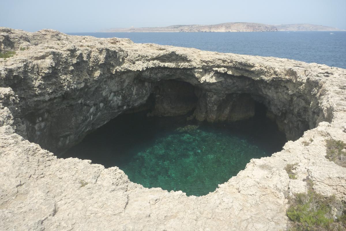 Ahrax open cave